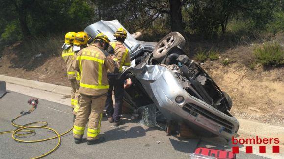 Bombers del parc Rubí-Sant Cugat guanyen el Concurs de Rescat en Accidents de Trànsit