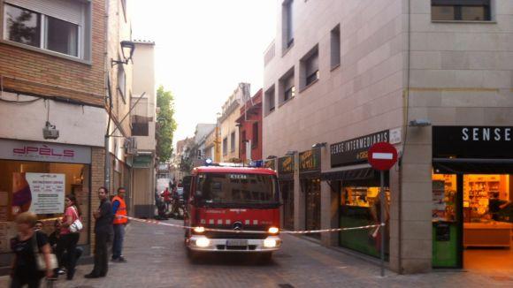 Extingit un foc a l'antic restaurant Alapiedra