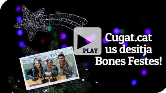 Cugat.cat et desitja un bon Nadal amb una felicitació del seu equip