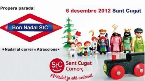 Sant Cugat Comerç mira 'en positiu' la campanya de Nadal