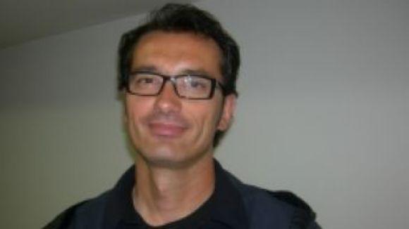 Davide Bonaccini, de l'Handbol Sant Cugat, protagonista de la innocentada
