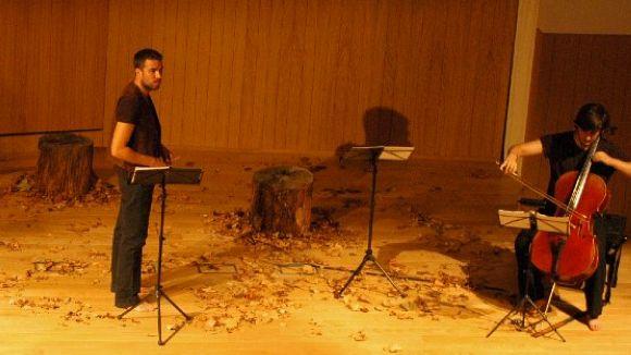 Un muntatge de música i poesia exposa les reflexions de Miquel Martí i Pol