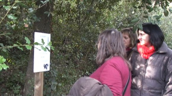 El 'Bosc Literari' s'estrena com a porta de Collserola amb els versos de Carner