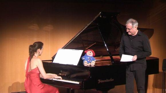 'Aventures al voltant del piano' uneix al Teatre-Auditori Casale i Bosch