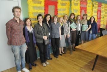 Quatre mestres de Bòsnia i Herzegovina han visitat Sant Cugat amb fins solidaris