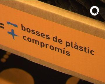 L'Ajuntament i els comerços sumen forces per eliminar les bosses de plàstic