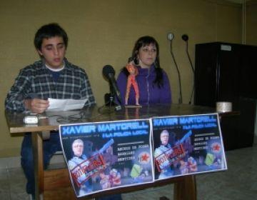 Xavier Martorell i la policia local són els Botiflers de l'Any 2008 per a l'AJSC