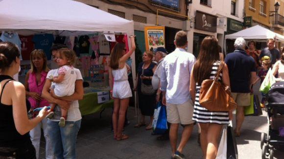 La Botiga al Carrer viu la Festa Major a les artèries de la ciutat