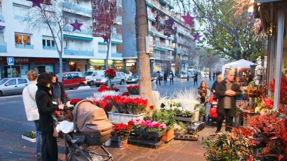 Preocupació de Sant Cugat Comerç pels efectes de l'àrea verda en les botigues