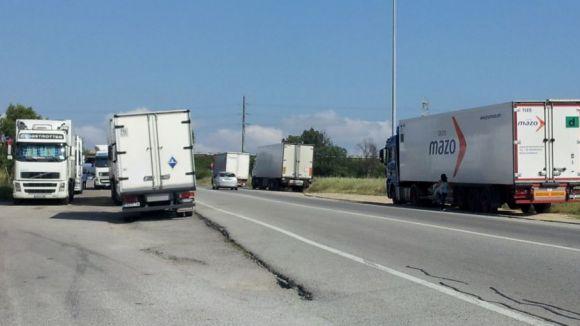 Sant Cugat i Rubí, contraris a l'aparcament de camions a la BP-1503
