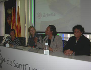 Rebuda al col·lectiu brasiler d'economia solidària Arteiras