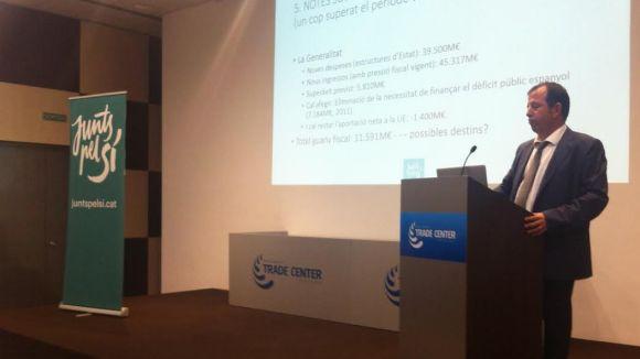 Carles Brugarolas (JxSí): 'Si la transició té costos serà per l'actitud de l'Estat'