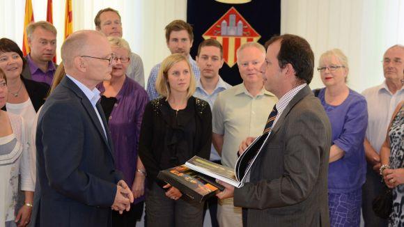 Carles Brugarolas, a la dreta, en imatge d'arxiu / Fotografia: Localpres