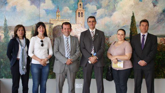 Una delegació brasilera coneix les polítiques d'emprenedoria de Sant Cugat