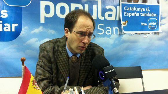 Bruno de Salvador, el nou responsable de coordinació del PP comarcal