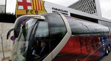 Dos socis de la Penya Blaugrana es perdran l'Inter-Barça per culpa del núvol de cendra