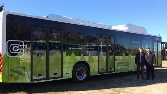 El primer autobús 100% elèctric de Sant Cugat circularà per la línia 7
