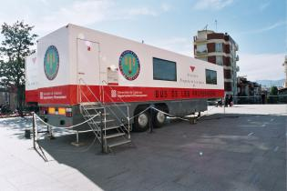 El Bus de les Professions arriba a la ciutat per informar sobre els estudis postobligatoris