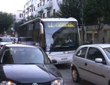 Totes les línies d'autobús urbà funcionen avui amb total normalitat