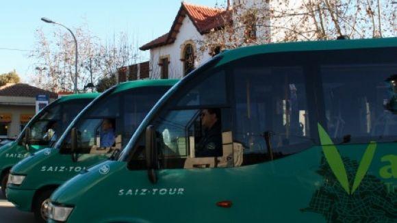 La tecnologia intel·ligent arriba als autobusos de Valldoreix
