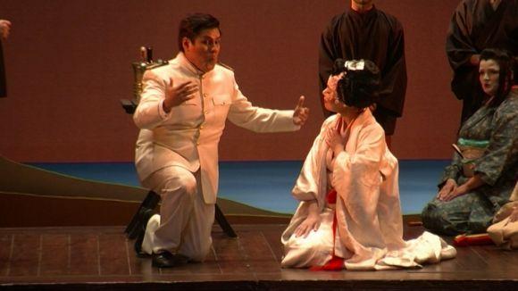El Teatre-Auditori plora el fracàs amorós de Madama Butterfly