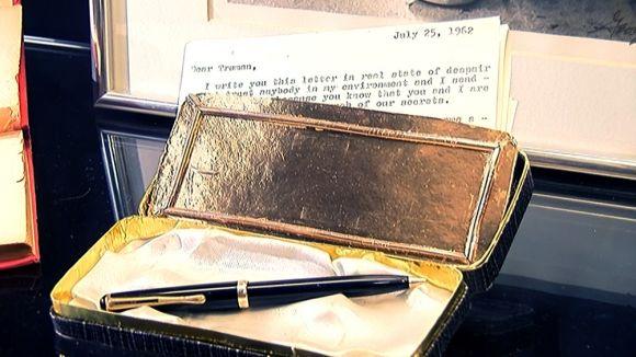 La Casa-Museu Cal Gerrer exposa una carta inèdita de Monroe sobre JFK