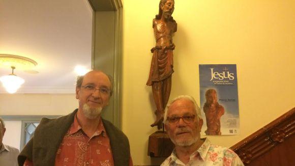 Paco Salas retorna una antiga biga de Cal Gerrer transformada en una talla de Crist