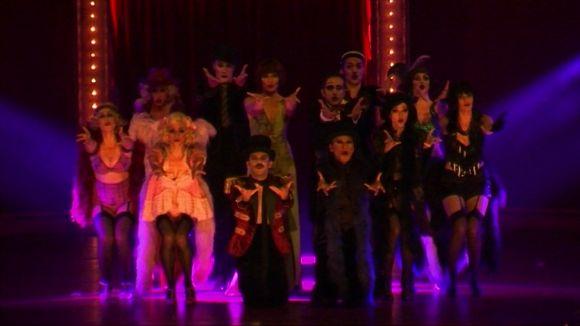 'Cabaret' transporta el públic del Teatre-Auditori a l'Alemanya prenazi