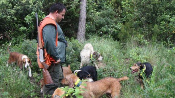 Jornada de caça menor avui al Parc de Collserola
