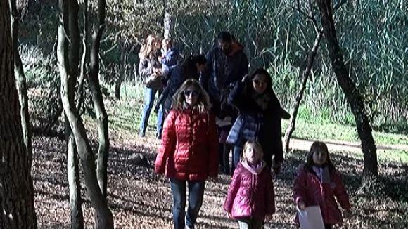 La cacera de tions al bosc de Volpelleres aplega una seixantena de famílies