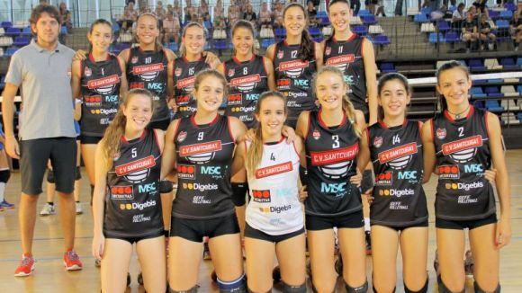 El cadet del Voleibol Sant Cugat / Font: Cvsantcugat.com