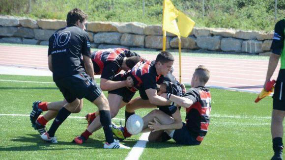 El cadet del Rugby Sant Cugat es pot erigir com el millor equip de Catalunya