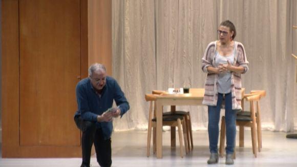 Vilarasau i Bosch omplen el Teatre-Auditori amb 'Caiguts del cel', una comèdia sobre la cobdícia