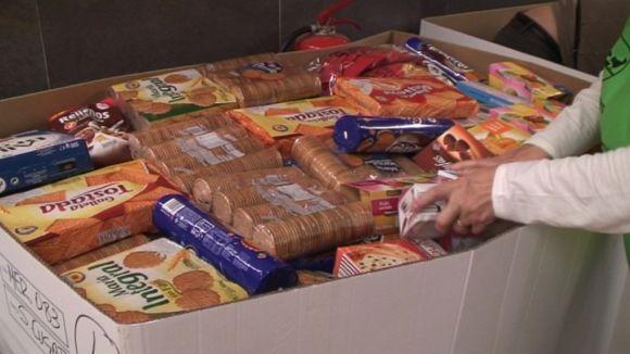 Sant Cugat supera les 80 tones d'aliments per al Gran Recapte
