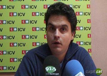 Calderón (ICV): 'El PP ha d'explicar perquè va trencar la unitat sobre Torre Negra i després es va fer la foto'