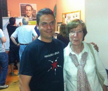Calderon i Casamitjana, els dos representants d'ICV-EUiA