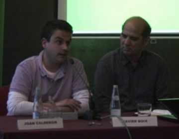 Calderon (ICV): 'Cal guanyar la guerra de l'hegemonia dels valors col·lectius per sobre dels individuals'