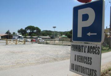Tanca l'aparcament il·legal de Can Calders 18 mesos després del primer expedient