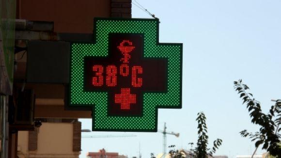 Sant Cugat registra el rècord de temperatura de l'any amb 38 graus