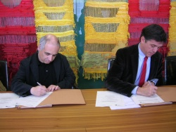 El Col·legi d'Arquitectes i l'Ajuntament col·laboraran per agilitzar els tràmits de concessió d'obres