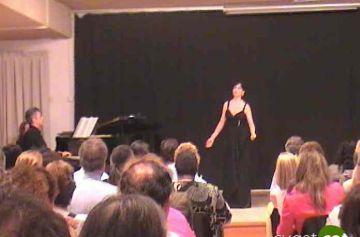 El curs internacional  de cant tanca amb èxit malgrat la pluja