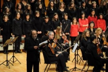 Camerata ofereix un concert a una cova del Montsec
