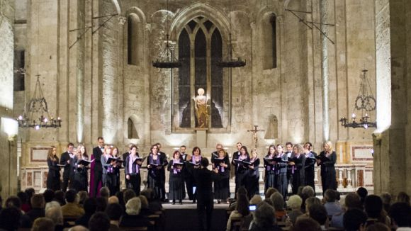Imatge d'arxiu del Cicle de música sacra coral al monestir / Foto: Camerata Sant Cugat