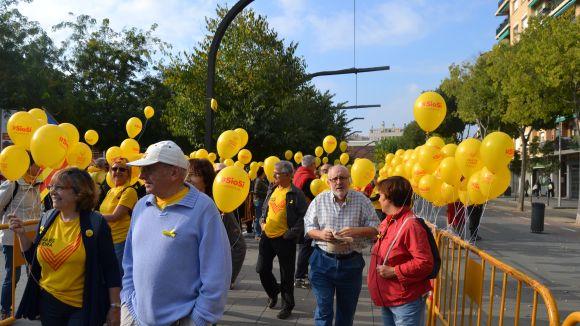L'ANC proposa de nou una caminada de Sant Cugat a la manifestació de l'Onze de Setembre