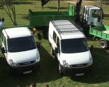 Sis nous vehicles completen la flota de la brigada d'obres municipal