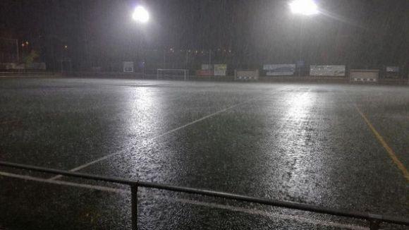 Incidències lleus a Sant Cugat a causa de la pluja d'aquest dimarts i dimecres
