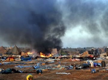 Una exposició de fotografies recull el 'modus vivendi' del campament sahrauí de Dajla