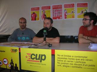 Imatge d'arxiu d'un acte organitzat per la CUP