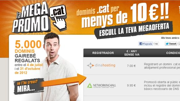 Dominis .cat a set euros