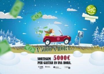 La Federació de Comerciants sorteja vals de 1.000 euros per gastar-los en una hora